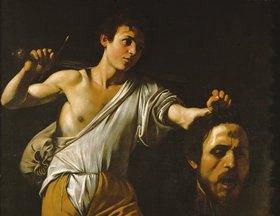 Caravaggio: David mit dem Haupt des Goliath