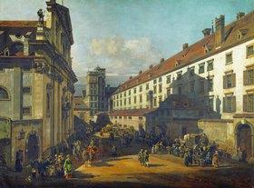 Bernardo (Canaletto) Bellotto: Die Dominikaner-Kirche in Wien