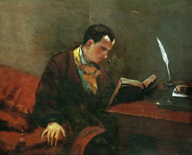 Gustave Courbet: Charles Baudelaire
