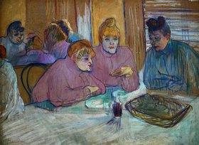 Henri de Toulouse-Lautrec: Prostituierte beim Abendessen
