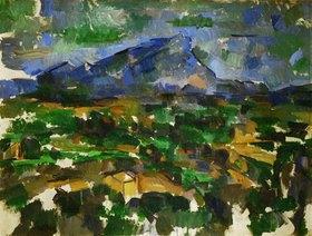 Paul Cézanne: Montagne Sainte-Victoire