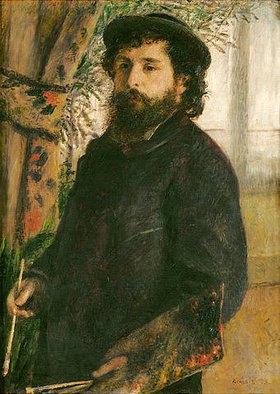 Auguste Renoir: Bildnis des Malers Claude Monet