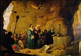 David Teniers: Die Versuchung des hl.Antonius Abad
