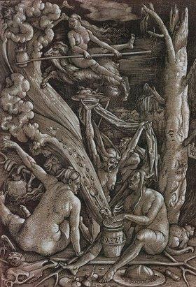 Hans Baldung (Grien): Die Hexen