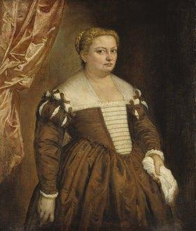 Paolo (Paolo Caliari) Veronese: Bildnis einer venezianischen Dame