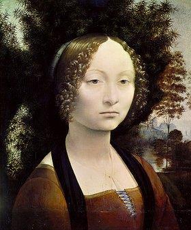 Leonardo da Vinci: Ginevra Benci, Bildnis