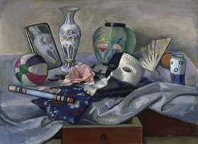 Jean Paul Kayser: Stillleben mit Maske