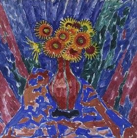 Walther Ophey: Blumen in einer Vase