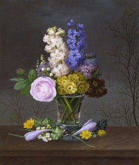 Johannes Ludwig Camradt: Frühlingsstrauß