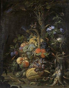 Abraham Mignon: Der Früchtekorb