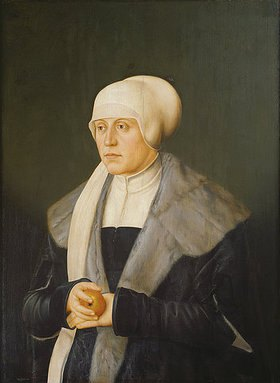 Bartel Beham: Kunigunde v.Österreich, Tochter Friedr. III.,Gemahlin Albrechts IV.von Bayern