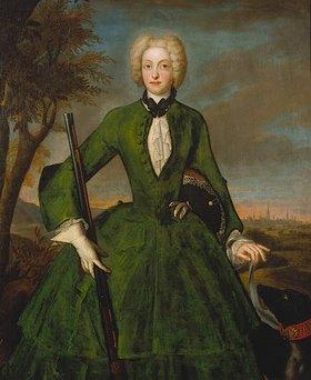 Franz Joseph Winter: Maria Amalia v.Österreich, Gemahlin Kaiser Albrechts VII
