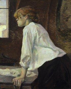 Henri de Toulouse-Lautrec: Die Waschfrau