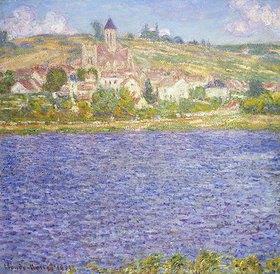 Claude Monet: Ansicht von Vetheuil am Nachmittag