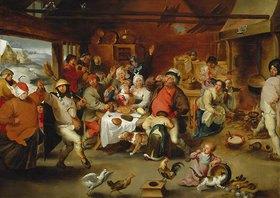 """Peter Paul Rubens: """"Die zwölfte Nacht"""" oder """"Der König trinkt"""""""