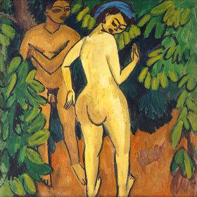 Ernst Ludwig Kirchner: Adam und Eva