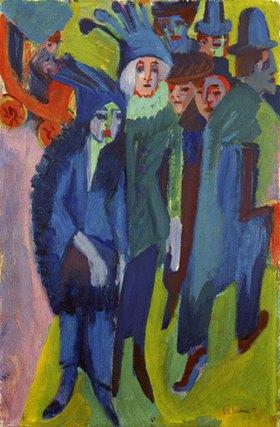 Ernst Ludwig Kirchner: Strassenszene