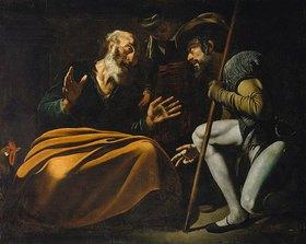 Caravaggio: Petrus verleugnet Jesus