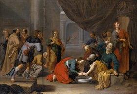 Jan van Bylert: Christus wäscht den Jüngern die Füsse