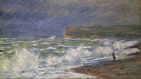 Claude Monet: Brandung bei Fécamp