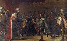 Hans Werl: Herzog Albrecht III. von Bayern schlägt die böhmische Krone aus