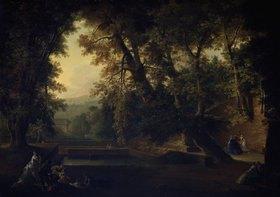 Philipp Hieronymus Brinckmann: Der Wolfsbrunnen bei Heidelberg