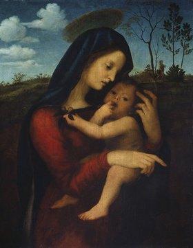 Giuliano Bugiardini: Madonna mit Kind