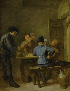 Adriaen Brouwer: Eine Trinkstube