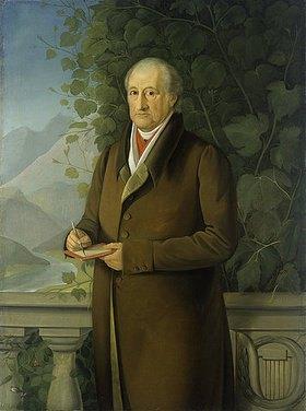 Johann Joseph Schmeller: Johann Wolfgang von Goethe. Wohl