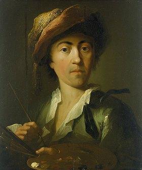 Johann Georg Trautmann: Selbstbildnis