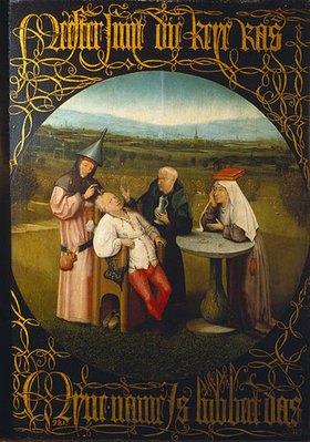 Hieronymus Bosch: Das Steinschneiden