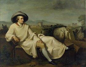 Carl Bennert: Goethe in der Campagna di Roma. Um 1848 (Kopie nach J.H.W. Tischbein)