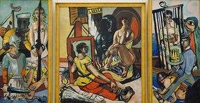 Max Beckmann: Triptychon Die Versuchung (Versuchung des hl. Antonius)