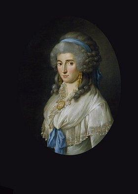 """Georg Melchior Kraus: """"Je suis C"""" (Charlotte von Stein)"""