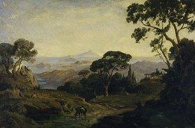 Friedrich Preller d.Ä.: Landschaft am Posilip