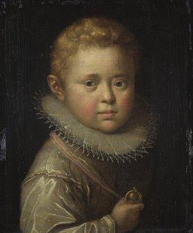 Hans von Aachen: Bildnis eines blonden Knaben