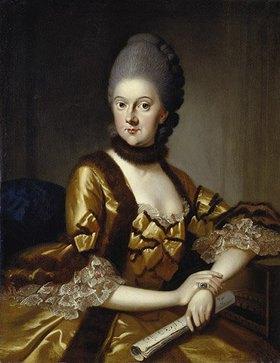 Johann Ernst Heinsius: Anna Amalia Herzogin von Sachsen