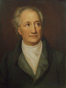 Julie von Egloffstein: Johann Wolfgang von Goethe, 1844/45 (Teilkopie nach J.K. Stieler)