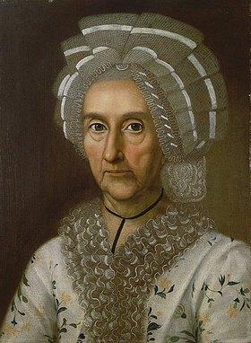 Unbekannter Künstler: Anna Margaretha Justina Textor, geb. Lindheimer (1711-1783)