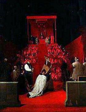 Jean Auguste Dominique Ingres: Der Herzog von Alba in Santa Gudula