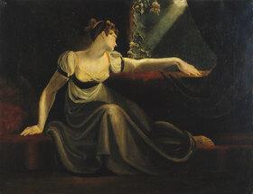 Johann Heinrich Füssli: Frau bei Mondschein