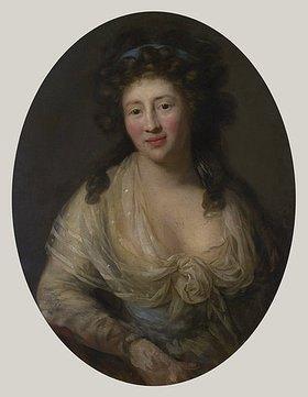 Anton Graff: Johanna Dorothea Stock (1736-1832). Nach