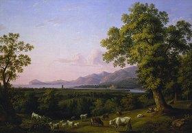 Jacob Philipp Hackert: Mündung des Garigliano und Golf von Gaeta