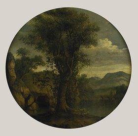 Jacob Philipp Hackert: Landschaft im Tal von La Cava