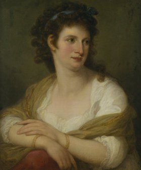 """Angelika Kauffmann: Maddalena Riggi (""""Die Schöne Mailänderin"""")"""