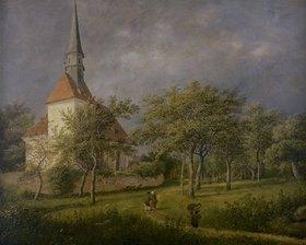 Johann Christian Klengel: Dorfkirche von Plauen