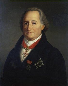 Heinrich Christoph Kolbe: Johann Wolfgang von Goethe. 1822, Replik der Erstfassung