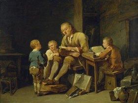 Georg Melchior Kraus: Erziehung der Jungen (Die Schulstunde)