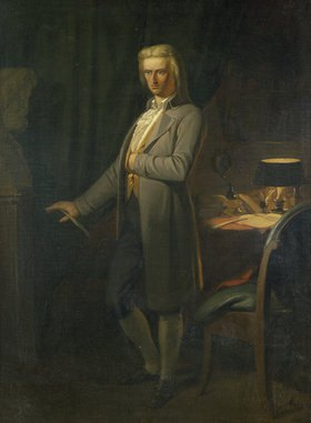 Ary Scheffer: Johann Christoph Friedrich Schiller. Nach