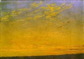 Caspar David Friedrich: Abend. (Wolken) Um 1824
